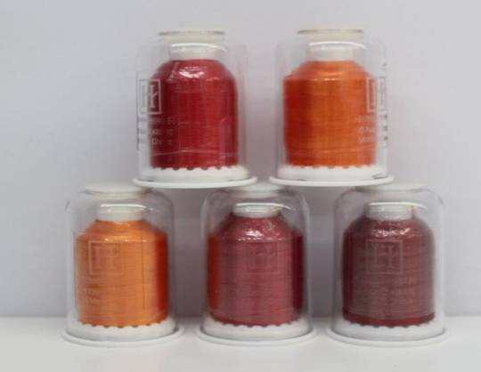 Hemingworth Thread  Red and Orange Shades